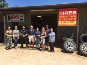 Ron's Tire & Battery -- Kingland, TX location at Grand Opening